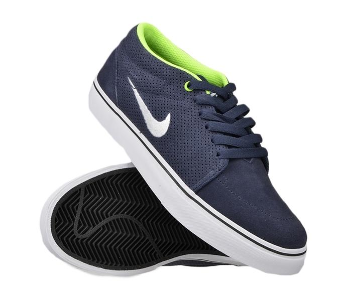 CIPŐK Nike SB Satire II férfi deszkás bőr cipő Fekete