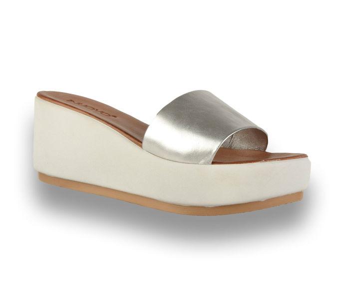 Inuovo női papucs - 7112 Silver