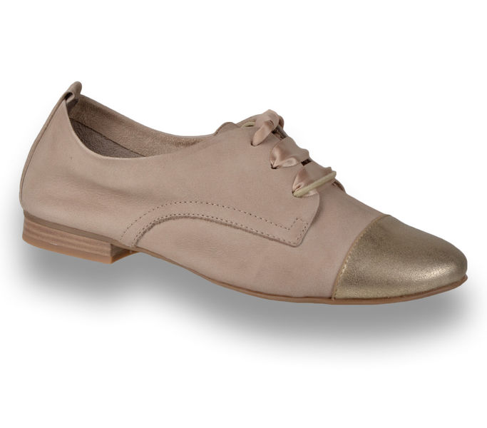 Tamaris fűzős cipő fekete színben, bőrből Tamaris 1 23201