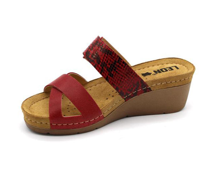 Leon Comfort női papucs 161 bézs uj Bőrcipő webáruház